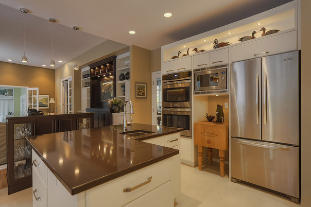 Vollinger Residence contemporary kitchen