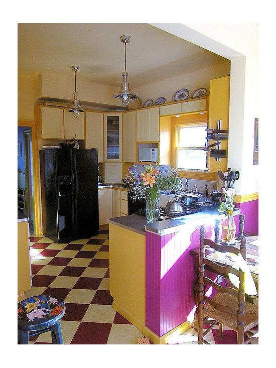 Kitchen Linoleum Floor Home Design Ideas, Pictures, Remodel and Decor