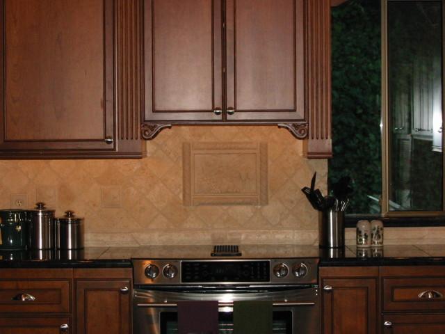 W Kitchen Tile Backsplash Ideas Traditional Kitchen Seattle