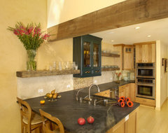 Wabi Sabi eclectic kitchen
