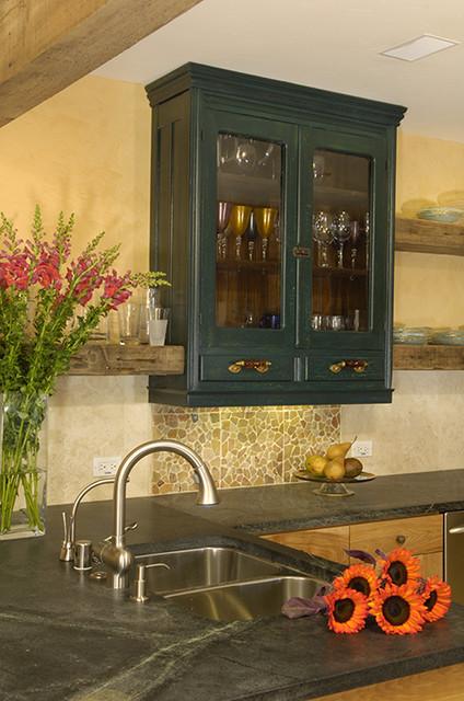 Wabi Sabi eclectic-kitchen
