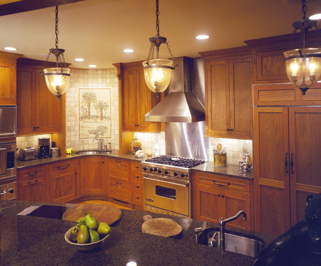 Wade Residence traditional-kitchen