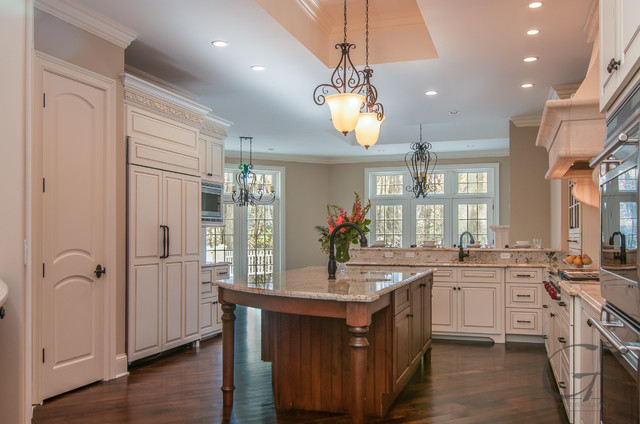 Wade Street Home by Distinguished Dwellings contemporary-kitchen