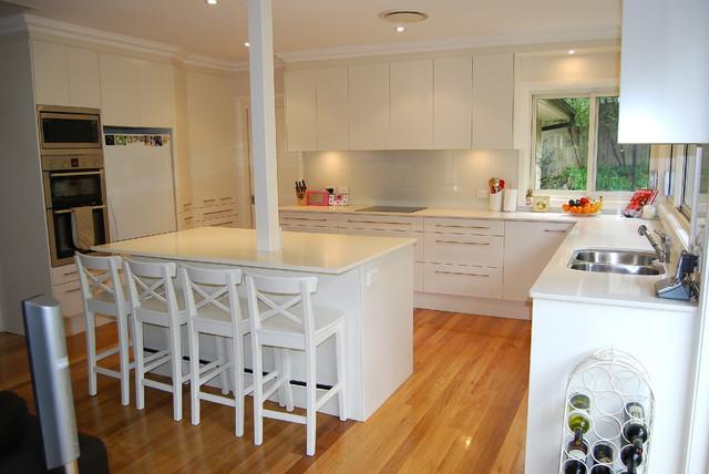 Wahroonga Sydney modern-kitchen