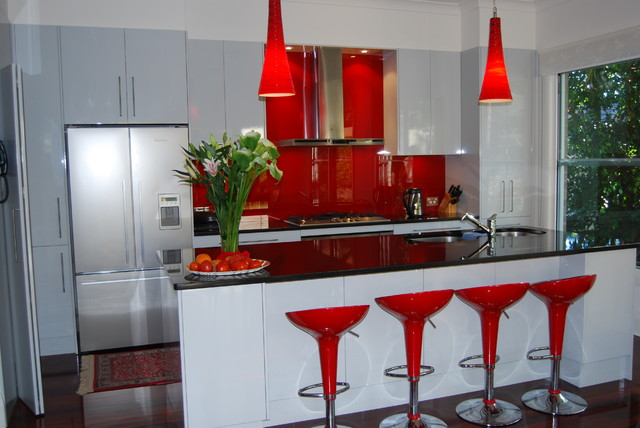 Wahroonga Sydney contemporary-kitchen