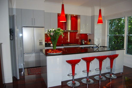 Great Who Sells The Red Pendant Light In The Waranaaga Australia Kitchen?