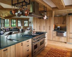 Wainscott Residence beach-style-kitchen