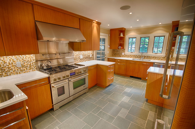 Wakefield Ma Kitchen Transitional Kitchen Boston By Mottl Cabinetry