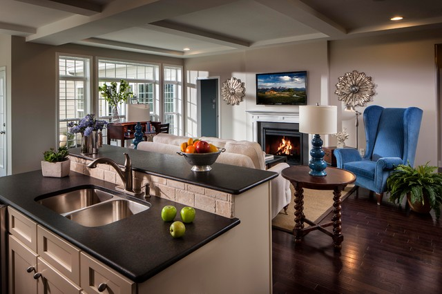 Walden model home traditional kitchen other by for Model home kitchens