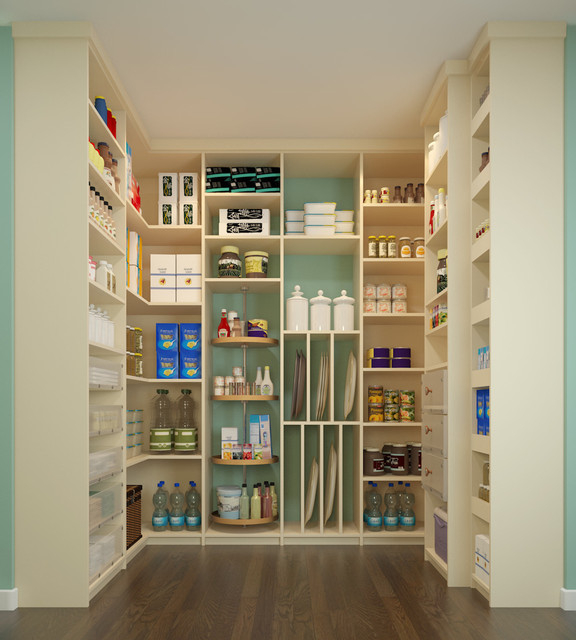 Walk-in Pantry contemporary-kitchen