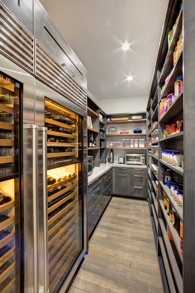 Walk In Pantry Modern Kitchen Sacramento By Mak