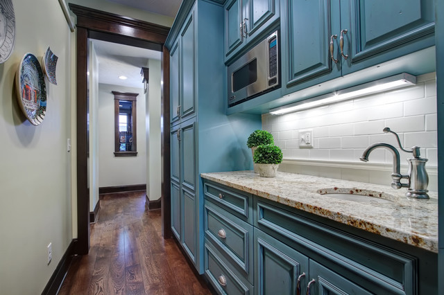 Walk In Pantry Traditional Kitchen Other Metro By