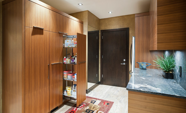 Walk In Pantry Contemporary Kitchen Vancouver By Old World Kitchens Custom Cabinets