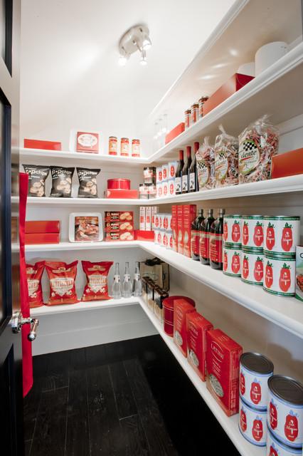 Walk In Pantry transitional-kitchen