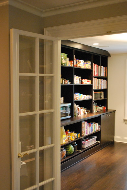 Walk in pantry contemporary kitchen boston by for Walk in kitchen pantry