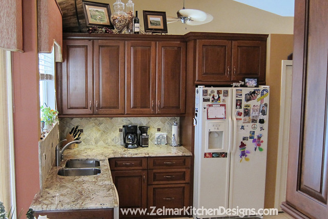 Walker Waypoint Zelmar Kitchen Bath Remodel Traditional Kitchen Orlando By Zelmar
