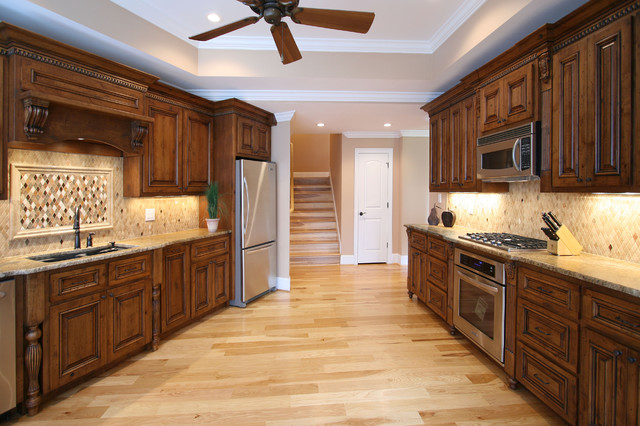 Walker Woodworking Custom Cabinets Traditional Kitchen