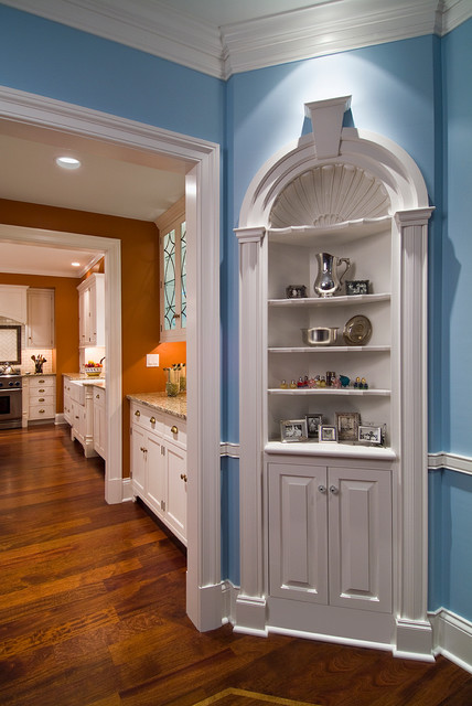 Wall Built-Ins traditional-kitchen