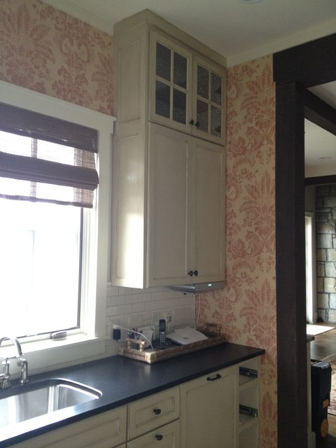 Wall Coverings Traditional Kitchen Other Metro By