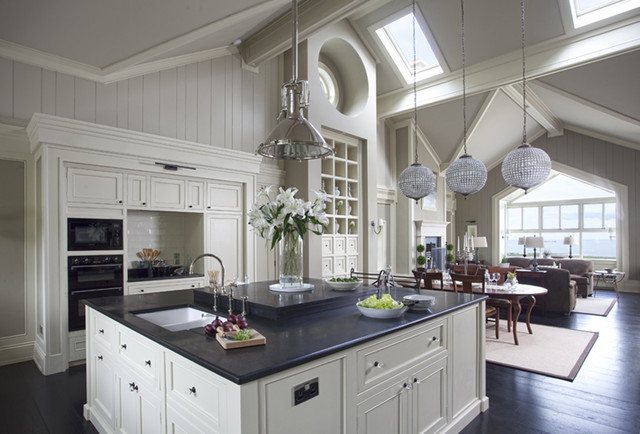 Wall morris design new england style house kerry for Latest kitchen designs 2013 uk