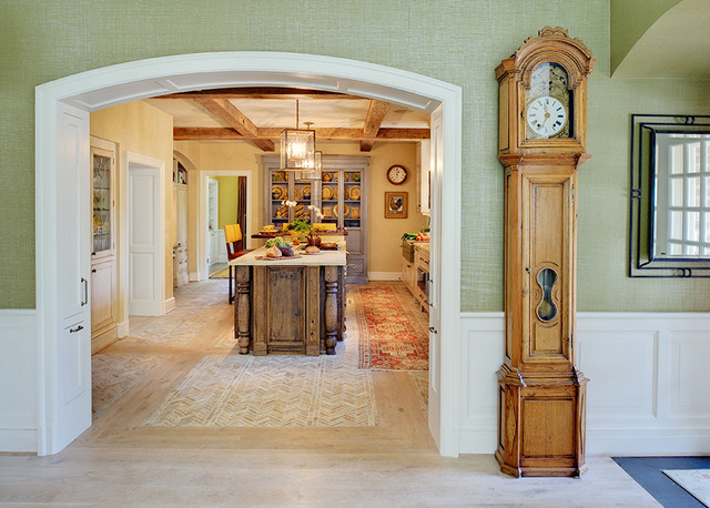 Wall Treatments Traditional Kitchen