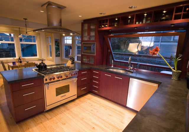 Wallingford Kitchen Modern Kitchen Seattle By Ava Design Build Inc