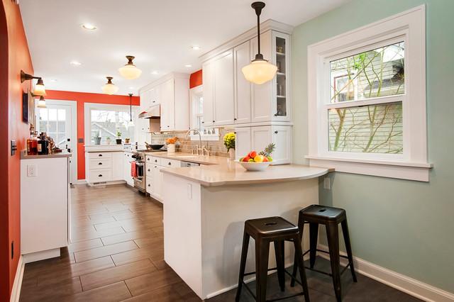 Wallingford Kitchen Traditional Kitchen Seattle By Kayron Brewer CKD