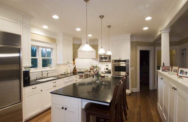 Wallingford Residence traditional-kitchen