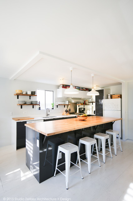 Wallingford Seattle Kitchen Remodel Modern Kitchen Seattle By Studio Zerbey Architecture