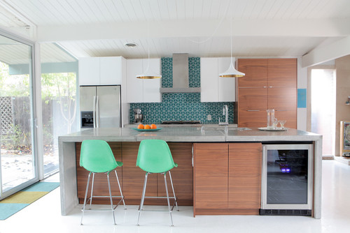 Kitchen Layout Ideas: Mid-Century Modern