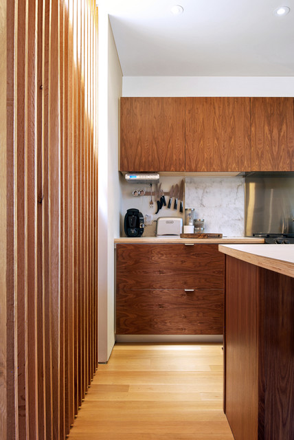 Walnut Kitchen Cabinets Modern Kitchen Toronto By