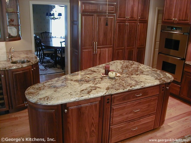 Walnut kitchen for Bathroom remodel 73012