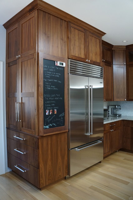 walnut kitchen in massachusetts modern kitchen other taylor made cabinets serving massachusetts for high end