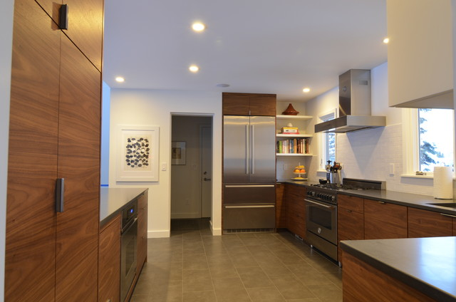 Walnut Kitchen contemporary-kitchen
