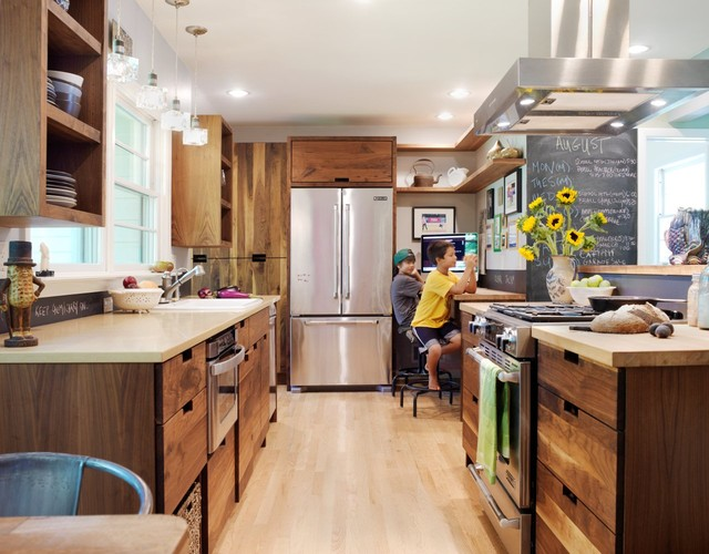 Contemporary Kitchen by Black & Sons Furniture Makers