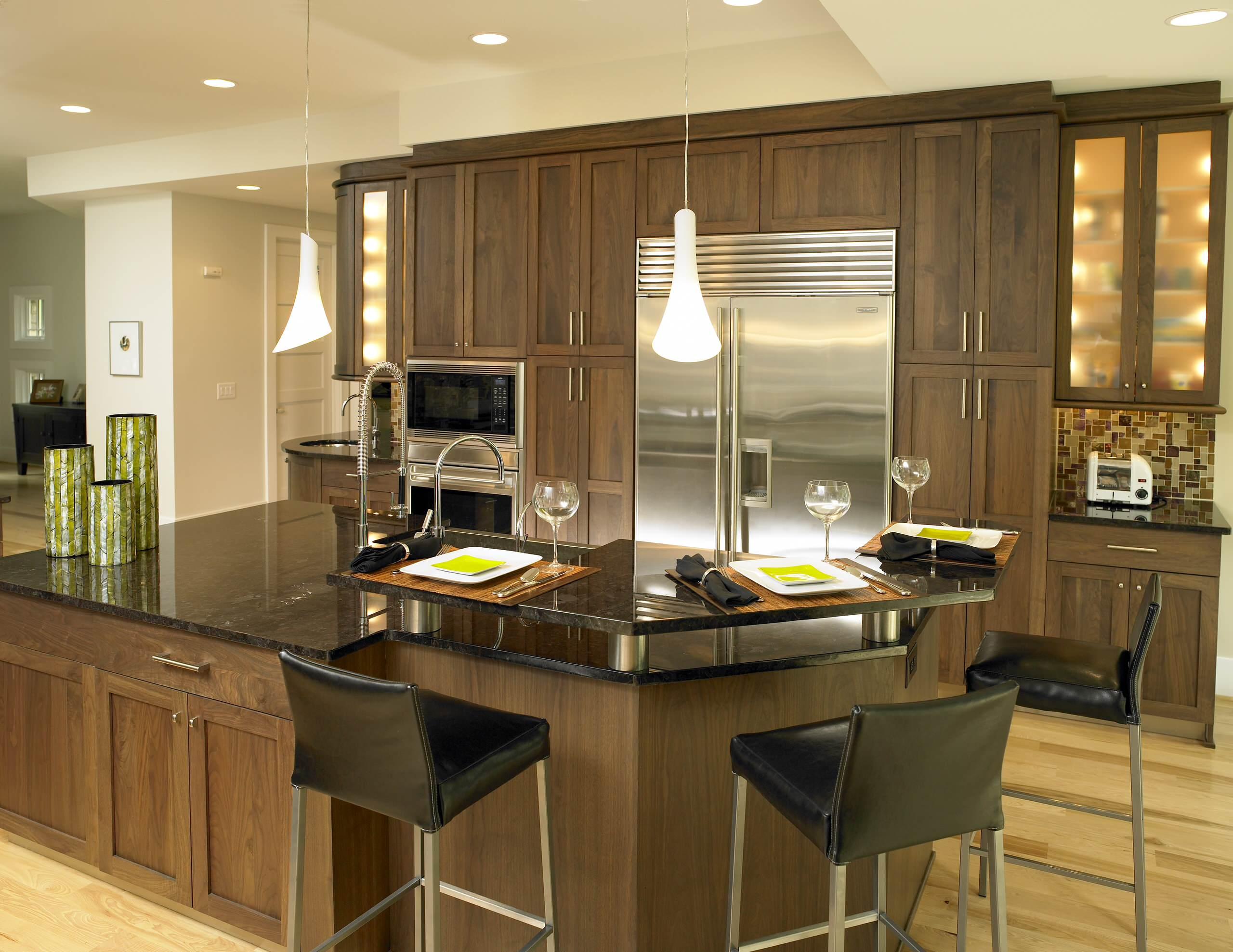 Walnut Kitchen Cabinet Houzz