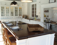 Walnut Wood Countertop - Brooks Custom traditional-kitchen