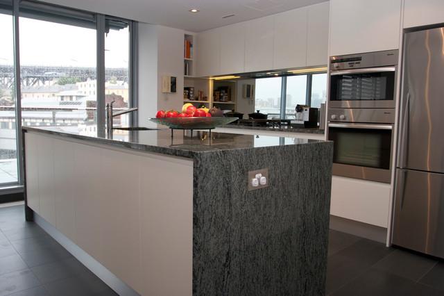 Walsh Bay Shadowline - Modern - Kitchen - sydney - by The ...