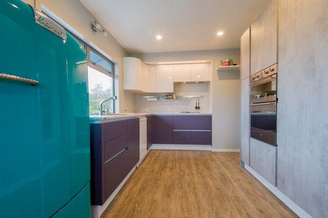 Walsh Roberts Residence Midcentury Kitchen Hamilton By Berloni New Zealand