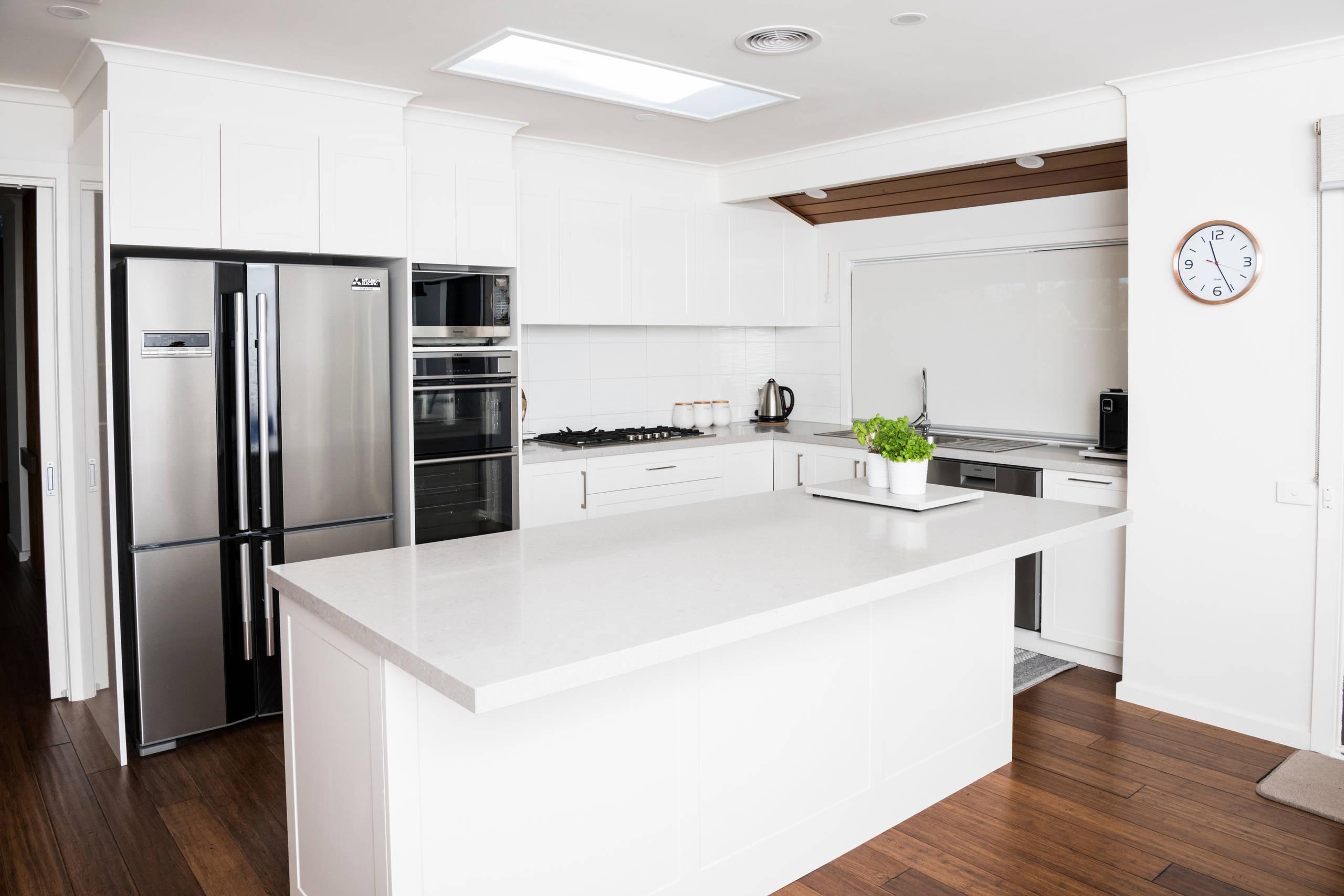 Wantirna White Kitchen
