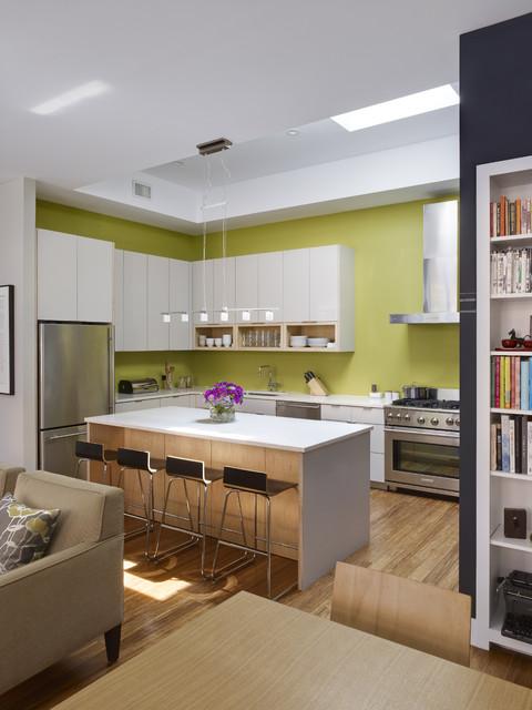 Warehouse Conversion contemporary-kitchen