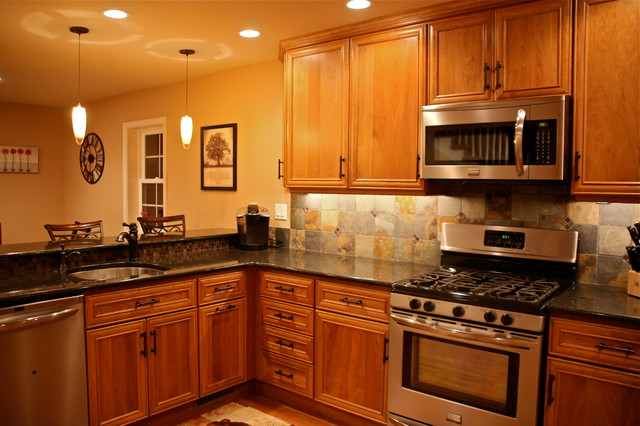 warm cozy traditional kitchen philadelphia by performance kitchens home. Black Bedroom Furniture Sets. Home Design Ideas