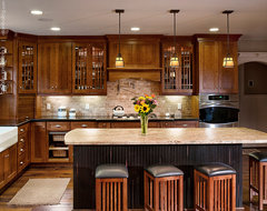 Warm and Inviting craftsman-kitchen