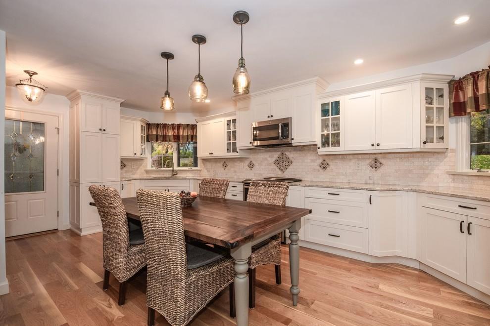 Warm & Inviting in Danbury - Contemporary - Kitchen - New ...