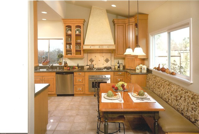 warm and inviting kitchen in elk grove. Black Bedroom Furniture Sets. Home Design Ideas