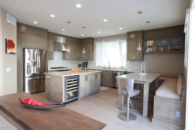 Warm Modern Modern Kitchen Orange County By Julie Laughton Design Build