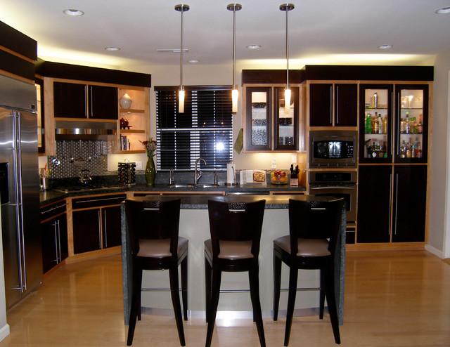 Warm Contemporary Modern Kitchen Contemporary Kitchen San Francisco