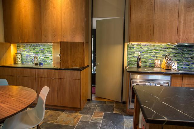 Warm Contemporary Newtown Kitchen Contemporary Kitchen Philadelphia By Dwell Design Co