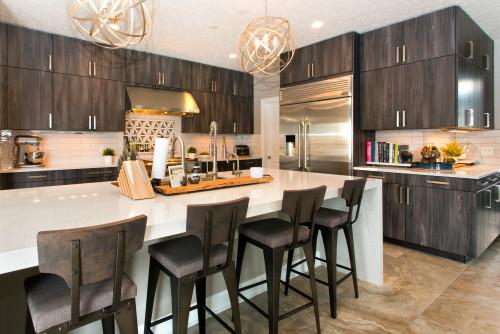 ไอเดียห้องครัว 01 warm contemporary