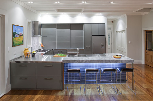 Contemporary Grey Kitchen contemporary grey kitchen | winda 7 furniture